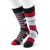 Men's Funky Socks 2-pk. Argyle Crew Socks