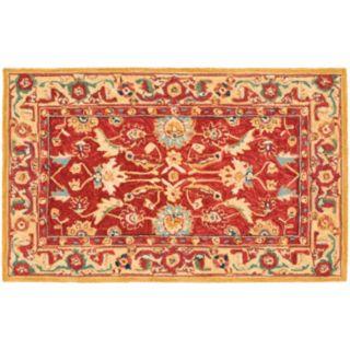 Safavieh Chelsea Adobe Floral Hand Hooked Wool Rug - 2'6'' x 4'