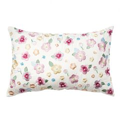 LC Lauren Conrad Allover Flower Throw Pillow