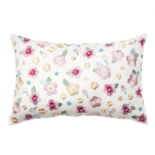 LC Lauren Conrad Allover Flower Throw Pillow