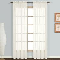 United Curtain Co. Monte Carlo Voile Curtain
