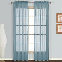 United Curtain Co. 2-pack Monte Carlo Voile Window Curtains