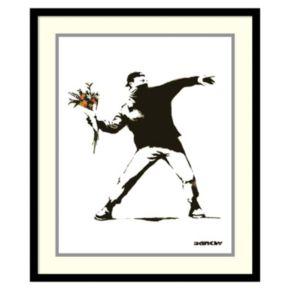 """""""Molotov'' Framed Wall Art"""