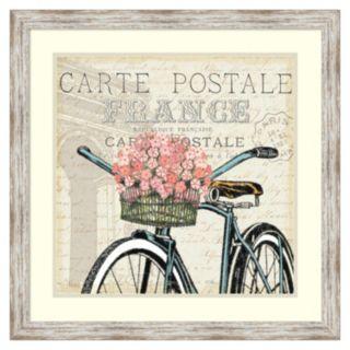 """Paris Ride II'' Framed Wall Art"