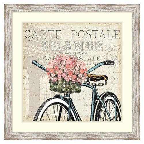 Paris Ride II'' Framed Wall Art