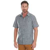 Men's Woolrich Lost Lake Classic-Fit Chambray Button-Down Shirt