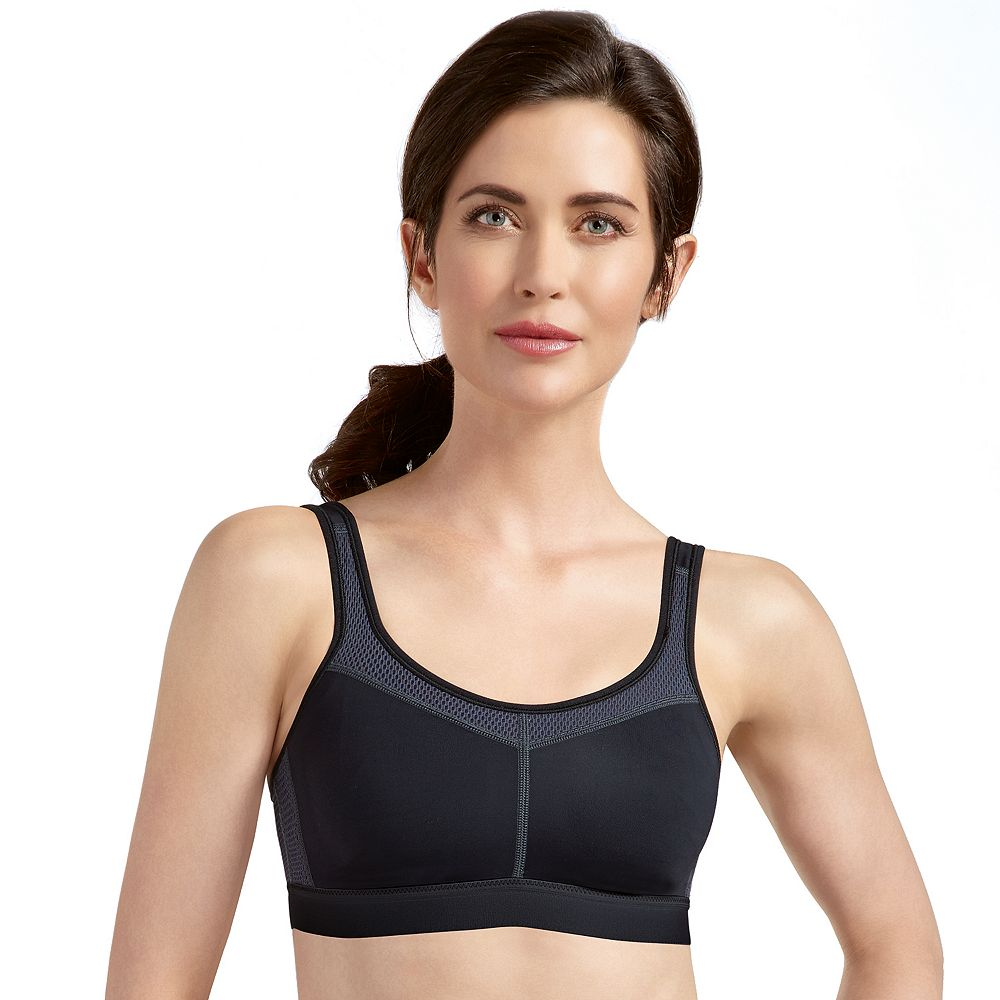Amoena Bra: Power Medium-Impact Sports Bra 1152