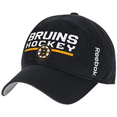 Adult Reebok Boston Bruins Adjustable Cap