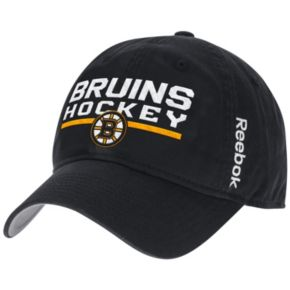 Adult Reebok Boston Bruins Adjustable Cap