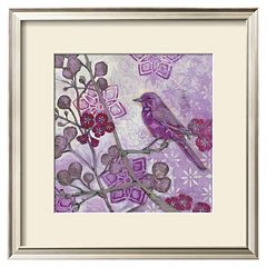 Art.com ''Plum Song II'' Framed Wall Art