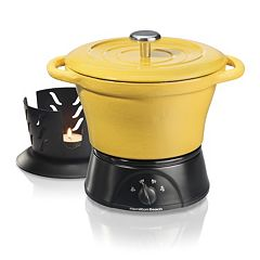 Hamilton Beach 1.5-qt. Cast-Iron Party Crock Slow Cooker