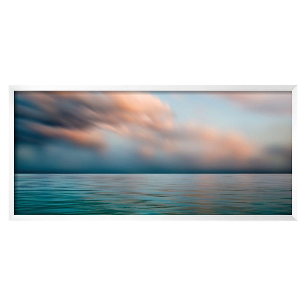 Art.com ''Caribbean Sea I'' Framed Wall Art