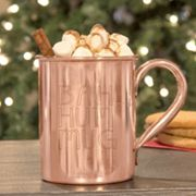 Cathy's Concepts 'Bah Hum Mug' Copper Moscow Mule Mug
