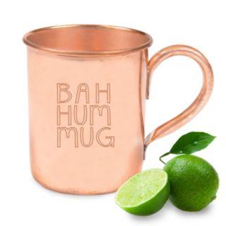 "Cathy's Concepts ""Bah Hum Mug"" Copper Moscow Mule Mug"