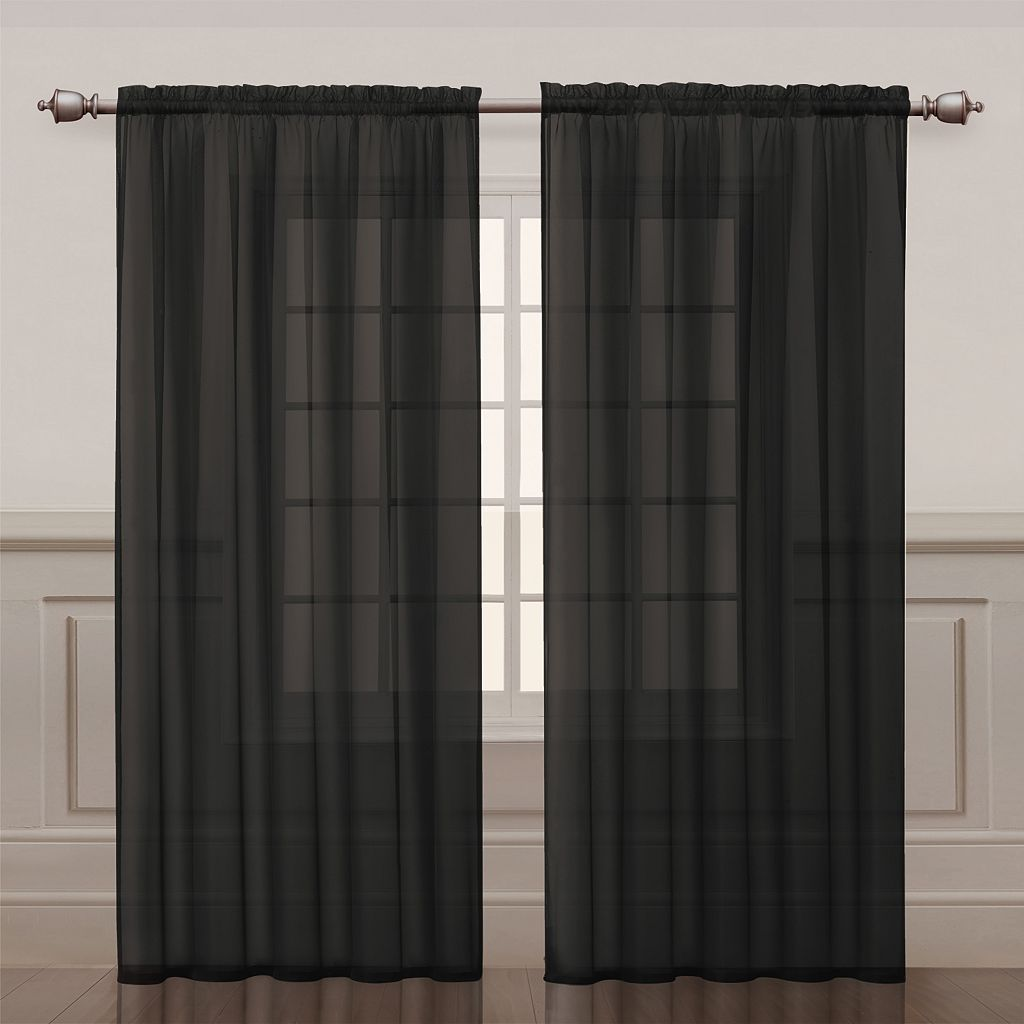 VCNY Infinity Sheer Window Panel
