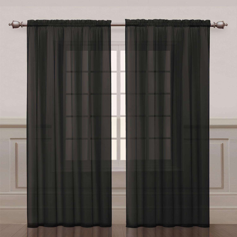 vcny infinity sheer window panel - Window Sheers