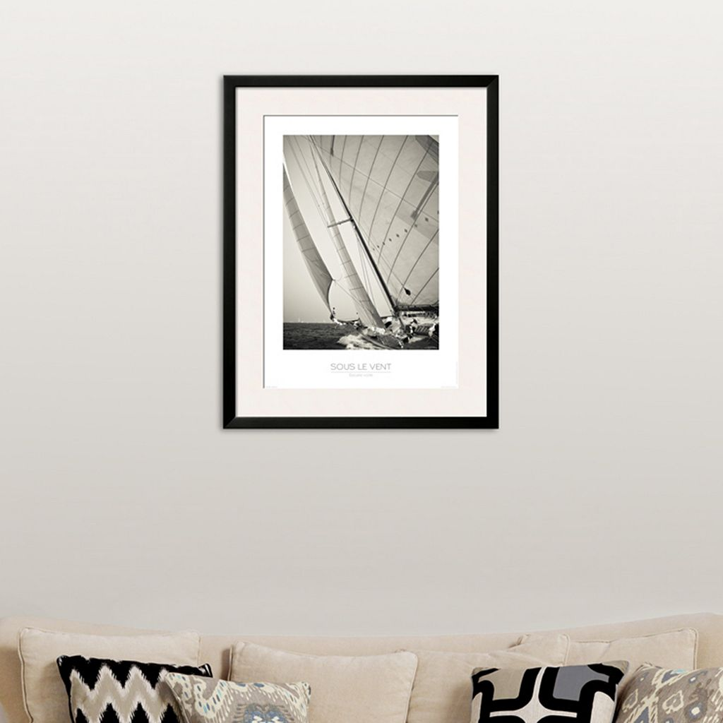 Art.com ''Sous Le Vent'' Framed Wall Art