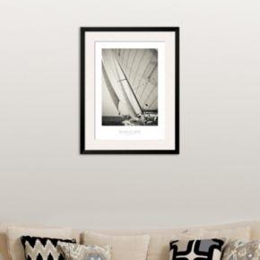 Art.com ''Sous Le Vent'' Framed Wall Art