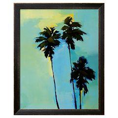 Art.com ''Looking up in L.A., Left Panel'' Framed Wall Art