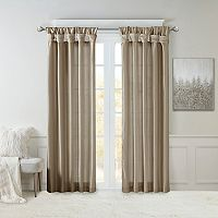 Madison Park Natalie Twisted Tab Lined Curtain