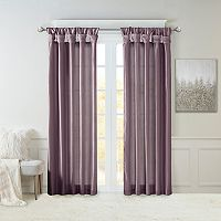 Madison Park Natalie Twisted Tab Lined Window Curtain