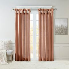 Madison Park 1-Panel Natalie Twisted Tab Lined Window Curtain