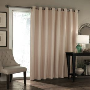 Eclipse Bryson Thermaweave Blackout Patio Door Curtain Null