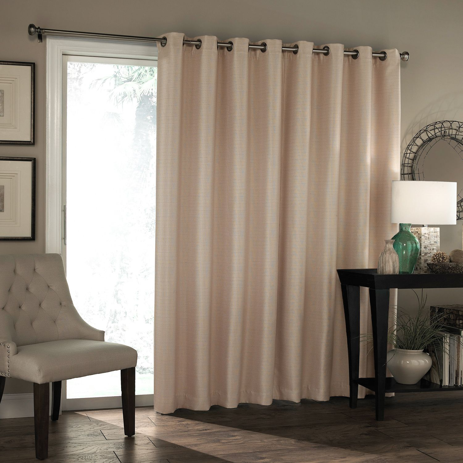 Marvelous Eclipse Bryson Thermaweave Blackout Patio Door Curtain