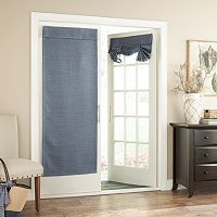 eclipse Bryson Thermaweave Blackout Door Curtain