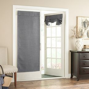 Eclipse Blackout 1 Panel Bryson Thermaweave Door Curtain