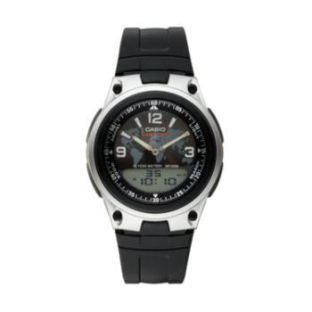 Casio Men's World Time Analog & Digital Watch - AW80-1A2V