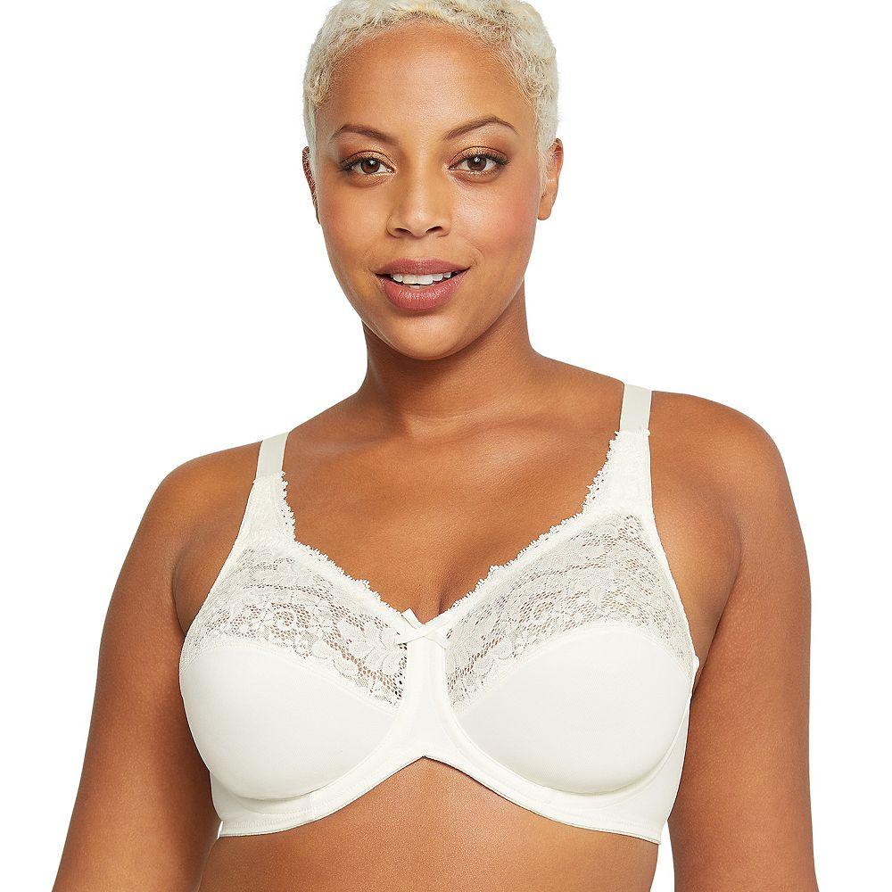 Lilyette® by Bali® Bra: Comfort Lace Full-Figure Minimizer Bra 428 - Women's