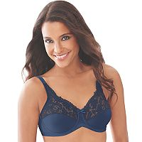 Lilyette Bra: Comfort Lace Full-Figure Minimizer Bra 428 - Women's