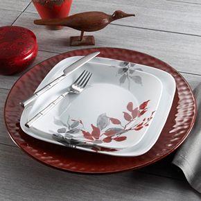 Corelle Kyoto Leaves 42-pc. Dinnerware Set