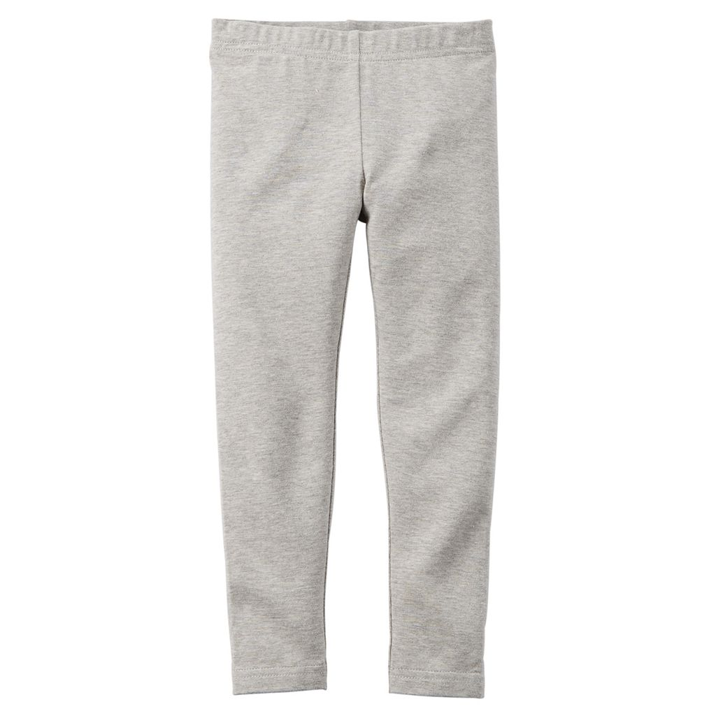 Girls 4-8 Carter's Solid Leggings