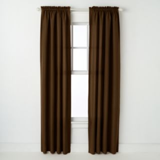 Peachskin 1-Panel Window Curtain