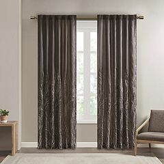 Madison Park Eliza Embroidered Window Curtain