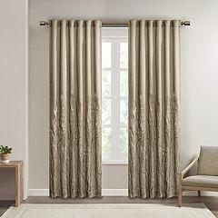Madison Park Eliza Embroidered Window Curtain