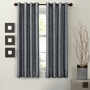Light to Night Jardin Embroidered Thermal Window Curtain