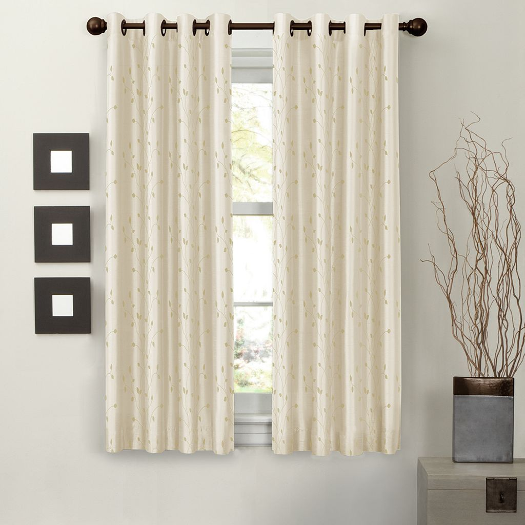 Light to Night Jardin Embroidered Thermal Curtain