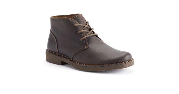 Dockers Tussock Men S Leather Chukka Boots