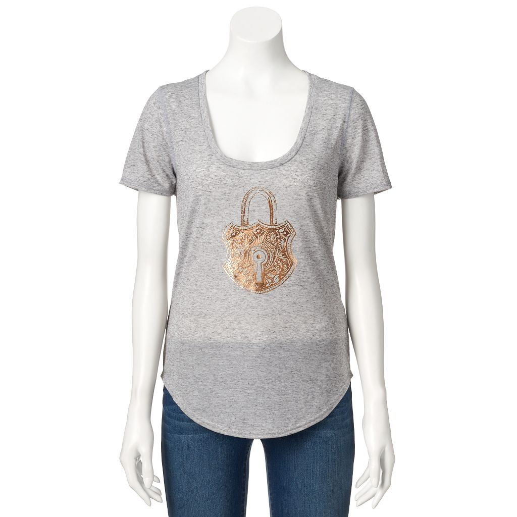 Women's Juicy Couture Foiled Graphic Tee