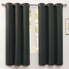 VCNY 1-Panel Blackout McKenzie Window Curtain