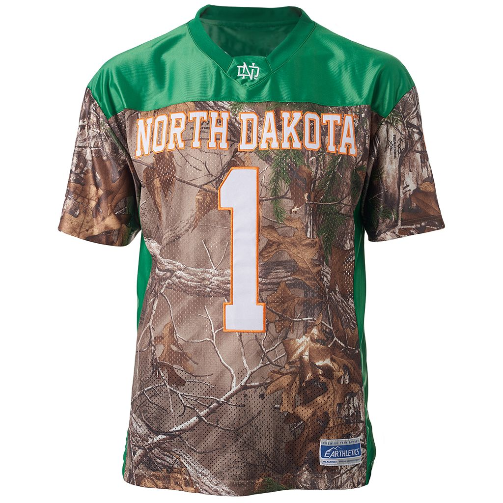 Men's North Dakota Game Day Realtree Camo Jersey