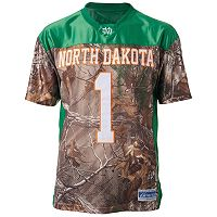 Men's North Dakota Game Day Realtree Camo Jersey