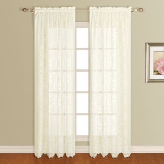 United Window Curtain Co. Rochelle Lace Window Panel