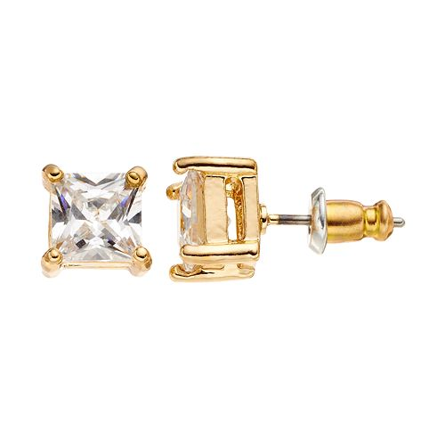 Dana Buchman Cubic Zirconia Stud Earrings