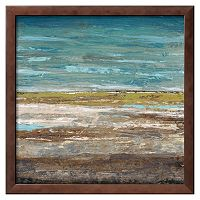 Art.com ''Abstract Sea 2'' Framed Wall Art