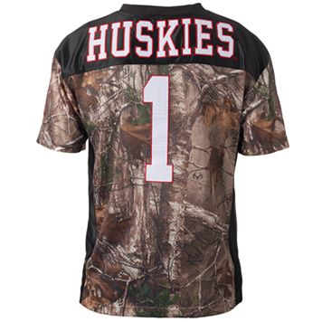 Men's Nothern Illinois Huskies Game Day Realtree Camo Jersey