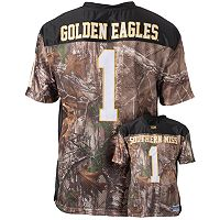 Men's Southern Miss Golden Eagles Game Day Realtree Camo Jersey